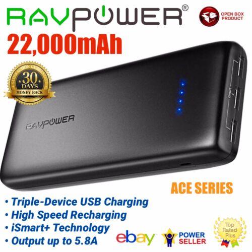 RAVPower 22000mAh External Battery Power Bank Portable Charg