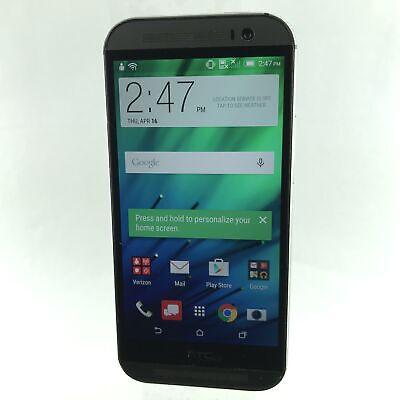 HTC One M8 32GB 6525LVW (Verizon) Android Smartphone (B-387)