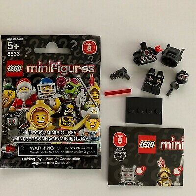LEGO Series 8 BAD EVIL ROBOT Minifigure 1 New/Loose Mini Figure 2012