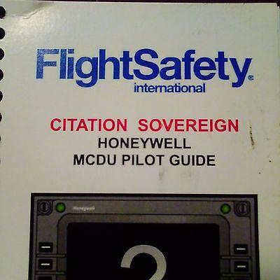 Cessna Sovereign w Honeywell EPIC MCDU Pilot Guide.