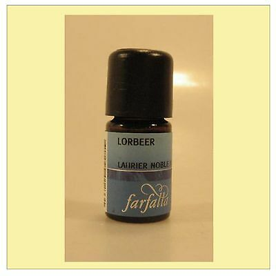 Farfalla naturreines ätherisches Lorbeer Öl Lorbeeröl bio kbA Ws 5 ml
