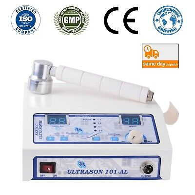 New Ultrason 101 - Al 1mhz Therapeutic Ultrasound Therapy Machine For Home Use