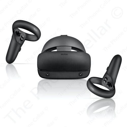 Oculus Rift S Virtual Reality System 301-00178-01: Headset & Controllers for PCs