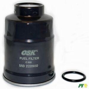 OSK Genuine Fuel Filter suit Z304 - Mitsubishi Pajero Triton Starwagon Diesel