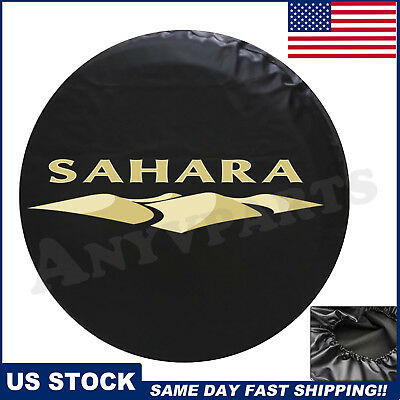 Spare Tire Cover Fit For 2007-2018 Jeep Wrangler Sahara NEW Leather 82212321