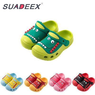 Toddler Clogs Mules Kids Slip On Summer Sandals Slide Lightweight Beach Slippers