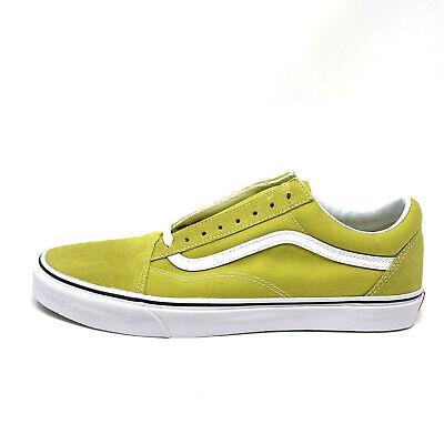 Cress Green (Vans Old Skool Cress Green White Men's 13 Skate Shoes New Lime)