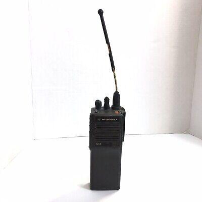 Motorola Mtx9000 900mhz 16 Channel 2.5 Handie-talkie Fm Radio Untested