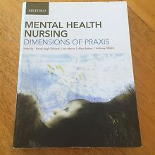 MENTAL HEALTH NURSING Dimensions of Praxis Warwick Southern Downs Preview