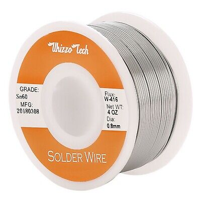 60-40 Tin Rosin Core Solder Wire Electrical Soldering Sn60 Flux .0310.8mm 100g