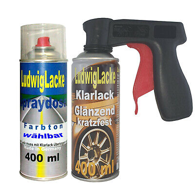 Blanco Ártico 147 Pintura Barniz Claro 400ml como Set para Mercedes Spray...