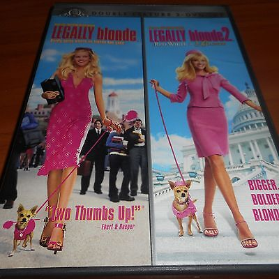 Legally Blonde/Legally Blonde 2: Red, White, and Blonde (DVD 2009, 2-Disc) (Legally Blonde 2 Red White And Blonde 2001)