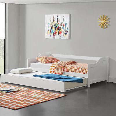 [En.casa] Extensible 90x200cm Plegable La Sofás Cama Invitados Almacenamiento