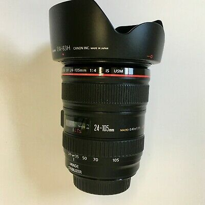 Canon EF 24-105mm f/4 L IS USM Lens - AMAZING CONDITION!