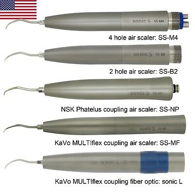 Sonic Dental Hygienist Air Scaler Fiber Optic 2 4 Hole Nsk Kavo Multiflex