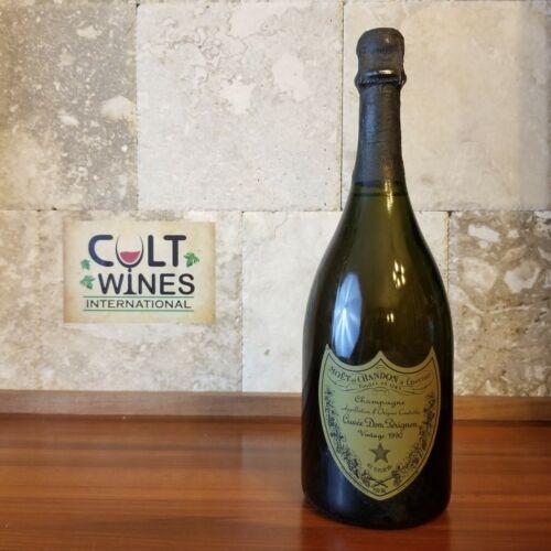 RP 98 pts! 1990 Dom Perignon Brut Champagne wine, France