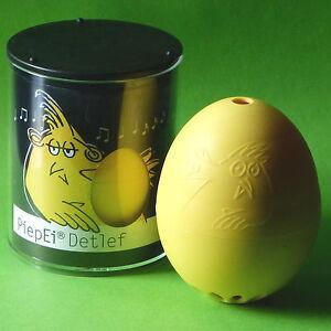 Brainstream Piep Ei Piepei Detlef gelb für weiche Eier Eieruhr Eierkocher