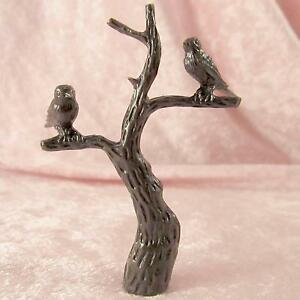 birds in branches tree of life lamp finial for old antique shade. Black Bedroom Furniture Sets. Home Design Ideas