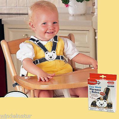 Baby Sicherheitsgurt  Schutz Teddy  Kinderwagen Hochstuhl Haltegurt  marine