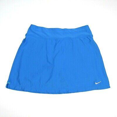 Nike Fitory Womens Size Medium Golf Skirt Sky Blue A-line Skort Stretch Athletic