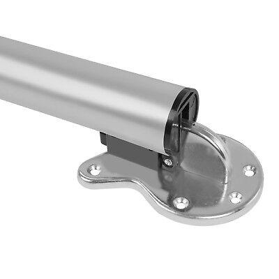 SILBER 71cm Ø5cm Stahl TischfußKLAPPBAR✔ Tischbein Untergestell Klapptisch✔