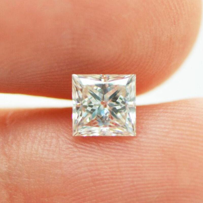 Loose Princess Cut Diamond One Carat G/vs2 Natural Enhanced 100% Earth Mined