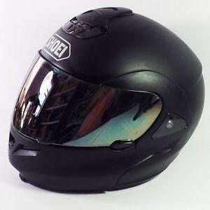 Shoei Multitec Modular Motorcycle Helmet Matte Black XXL Snell -Needs Cheek Pads