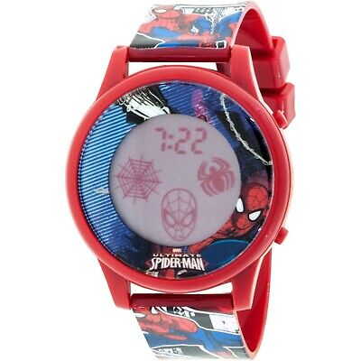 Spiderman Boys LCD Animation Watch - SPMKD16021AN