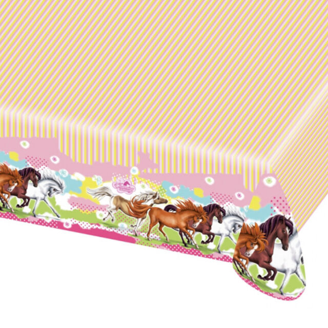 Charming Horses Tablecover|Horse & Pony Party|Party Tablecover