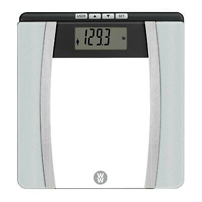 WW Scales by Conair Body Analysis Glass Bathroom Scale - Mea
