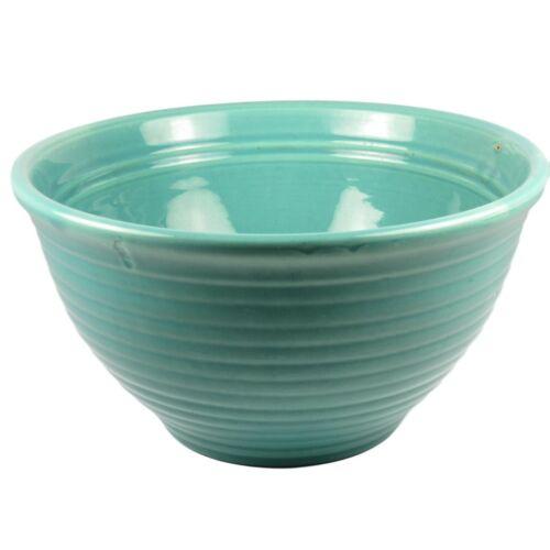 Vintage Bauer Ring Ware Mixing Bowl #12 Jade Green Glaze California USA 1930-40s