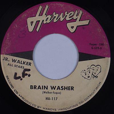 JR. WALKER & ALL STARS: Brain Washer HARVEY Orig Soul Instro 45 Hear