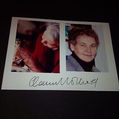 CHRISTIANE NÜSSLEIN Nobelpreis Medizin In-person signed Autogramm Foto 15x21