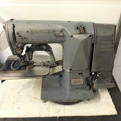 Singer 269  Oval Uniform Label Tacker Head Only Industrial Sewing Machine