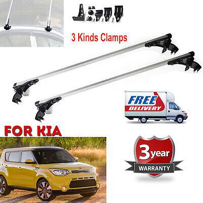 For Kia Forte Optima Soul 06-17 Car Top Bar Aluminum Crossbar Rack Cargo Luggage