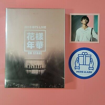 BTS 2015 hyyh live on stage dvd v taehyung photocard very rare oop