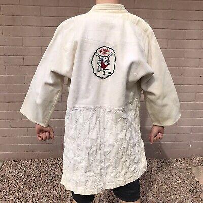 Usado, Vintage Judo Robe Gi Tokyo Judogi Mfg Co Shindo Kan School Uniform Jacket Only segunda mano  Embacar hacia Mexico