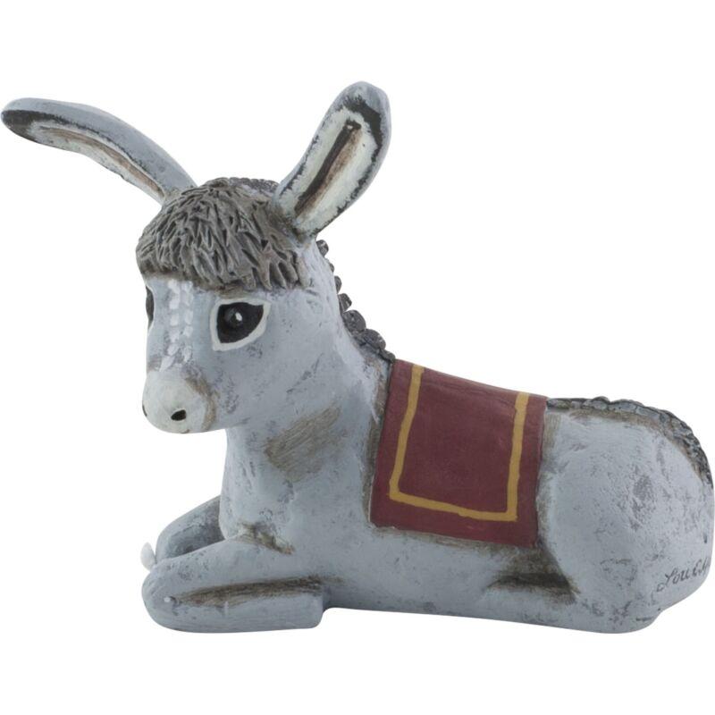 Lori Mitchell Holy Donkey Christmas Figurine Folk Art Decor