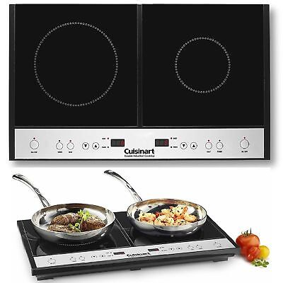 Induction Stove - Two Burner Hot Plate For Cooking Electric Cooktop Stove RV 2 Range Induction Kit