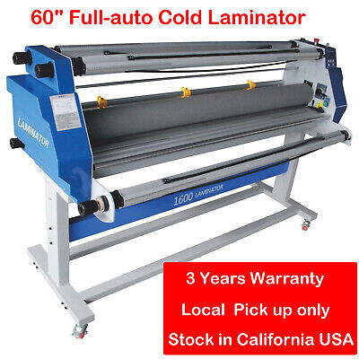 60 Full Auto Cold Roll Laminator Heat Assisted Laminationg Machine Wide Format