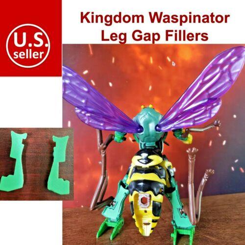 Transformers Upgrade Kit Leg Gap Fillers Fillet For Kingdom Waspinator TF-Lab