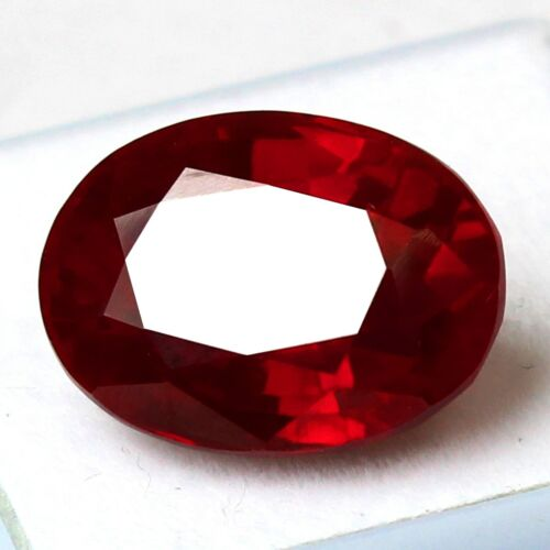 Certified 15.00 Ct Natural Mogok Pigeon Red Ruby Unheated Loose Gemstones