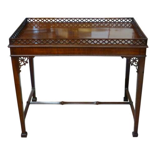 Eighteenth English Mahogany George III Tea Table
