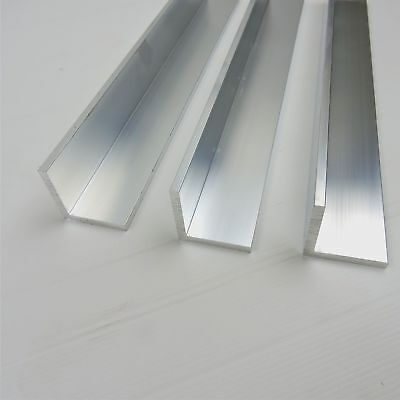 .125 Thick Aluminum 2 X 2 Angle 43 Long Qty 3 Sku 174034
