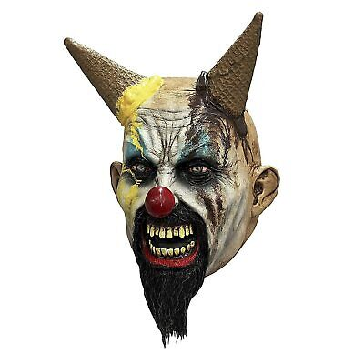 Adult Hellscream Killer Clown Halloween Cosplay Costume Scary Horror Latex Mask](Scary Killer Clowns)