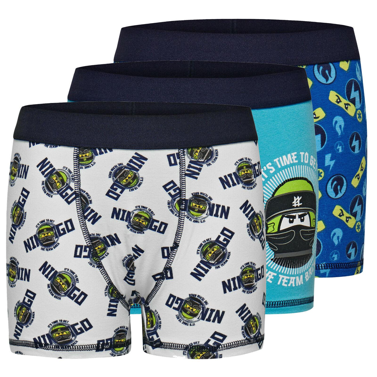 Lego CM-50242  NINJAGO® boys Boxershorts, Unterhose 3 pc