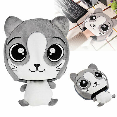 Comfortable Ergonomic USB Warm Hand Mouse Pad Cartoon Wrist Rest For Laptop Gift Ergonomic Hand Rest