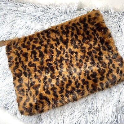 Womens Animal print large faux fur Handbag (Large Animal Prints)