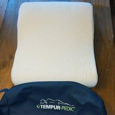 "Tempur-Pedic Travel Neck Pillow 13""x10""x4"" Likenew"