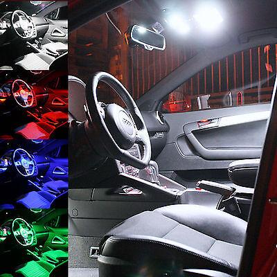 Mercedes Benz W209 CLK Coupe LED SMD Innenraumbeleuchtung set 11 Stück rot blau  online kaufen